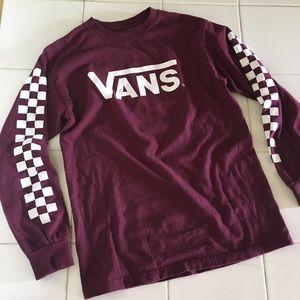Long sleeve vans shirt